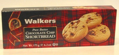 Bild von Walkers Chocolate Chip Shortbread
