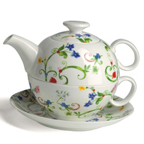 Bild von Tea For One Set Fleurette