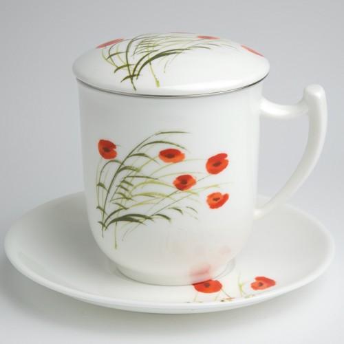 tea 4 you teetasse mit sieb und deckel caprice. Black Bedroom Furniture Sets. Home Design Ideas