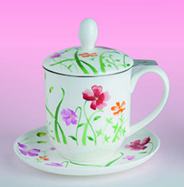 tea 4 you teetasse mit sieb und deckel lotta. Black Bedroom Furniture Sets. Home Design Ideas