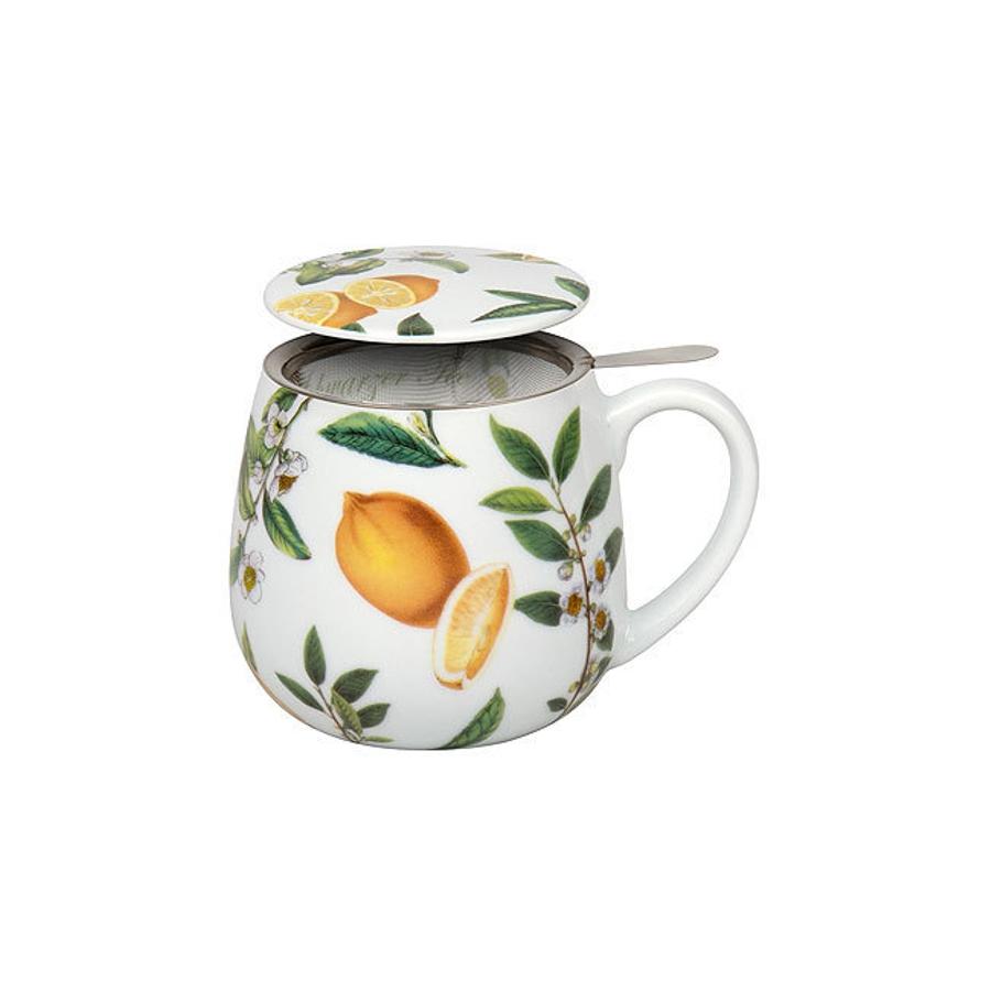 tea 4 you teetasse mit sieb und deckel my favourite tea schwarzer tee zitrone. Black Bedroom Furniture Sets. Home Design Ideas