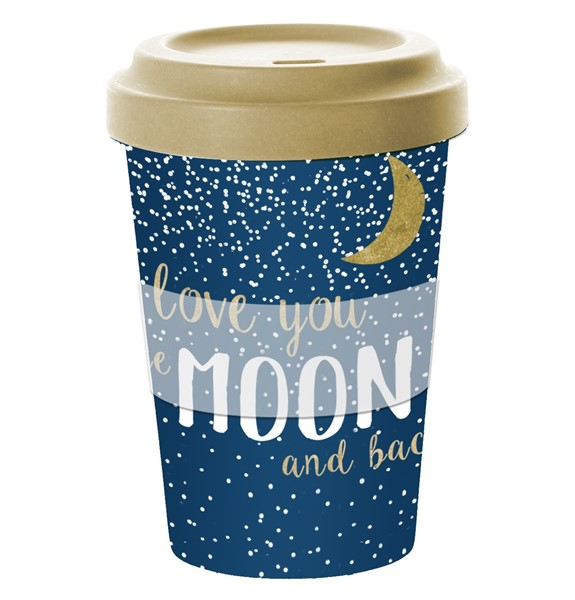 Bild von Moon Love Bambus Travel Mug Coffee to go