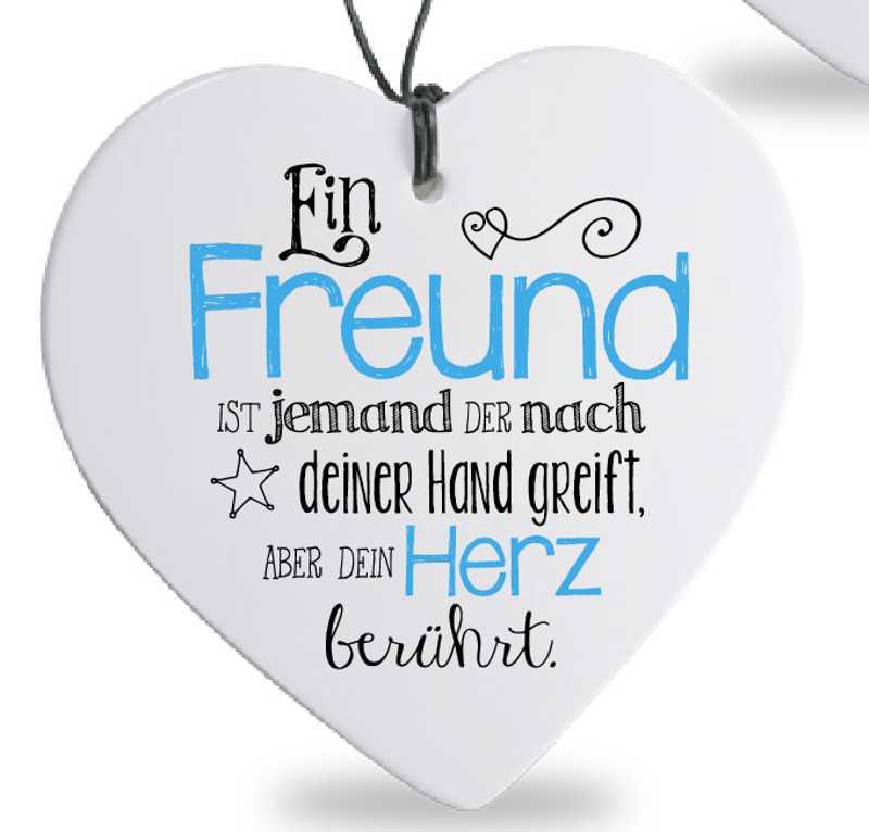 Tea 4 You Herz Mit Spruch Freund Herz
