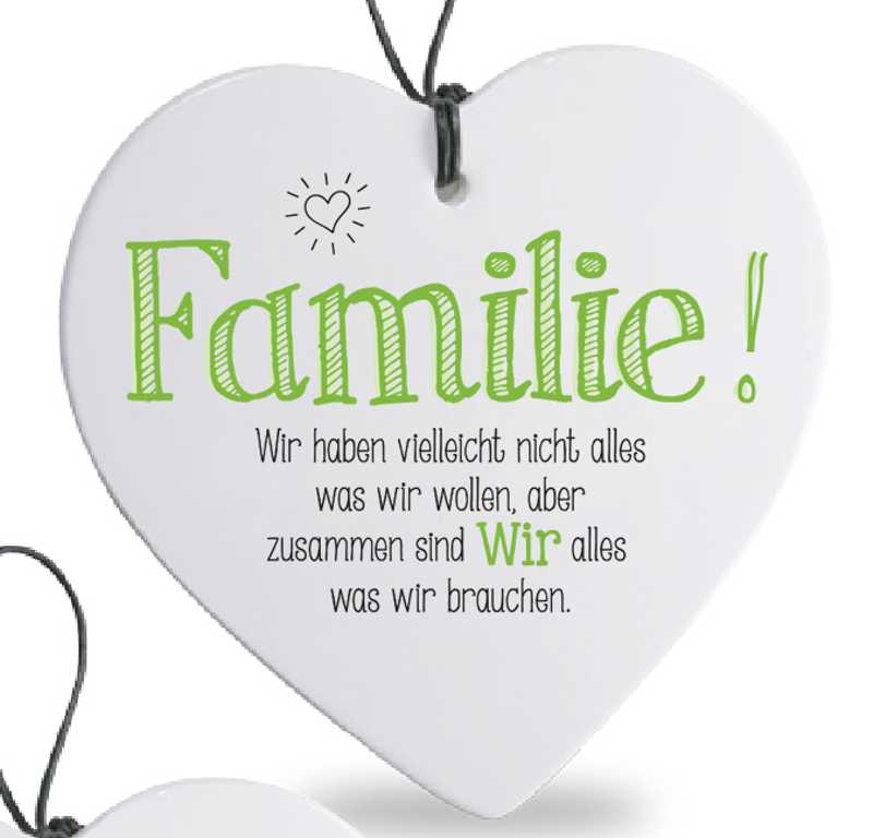 Herz Mit Spruch Familie