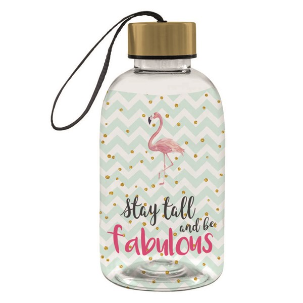 Bild von City Bottle Tritanflasche Be Fabulous Flamingo 550 ml