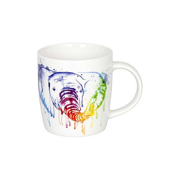 Bild von Elefant Watercoloured Animals Teetasse Kaffeebecher Könitz