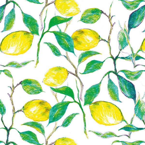 Bild von Beautiful Lemons Servietten