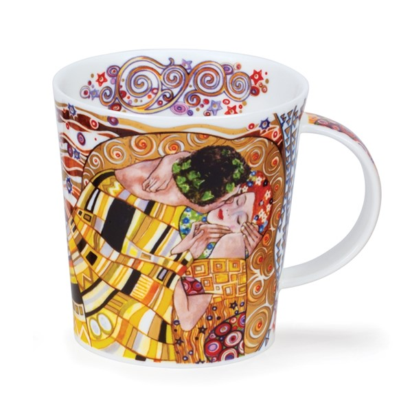 Bild von Destiny Kiss Klimt Dunoon Tasse Lomond Fine Bone China