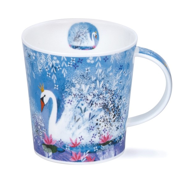 Bild von Schwan Dunoon Tasse Fancy Feathers Swan Lomond Fine Bone China