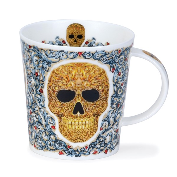 Bild von Elysium golden Dunoon Tasse Lomond Fine Bone China