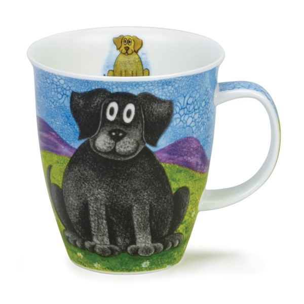 Bild von Dunoon Tasse Happy Dogs Black Lab Nevis