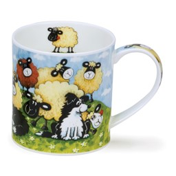 Bild von Dunoon Tasse Silly Sheep brown Schafe Orkney