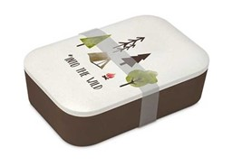 Bild von Brotzeitdose Into the Wild Bambus Brotbox Lunchbox