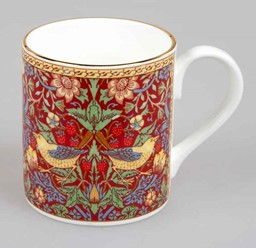 Bild von Strawberry rot Larch Roy Kirkham Tasse Henkelbecher 0,3